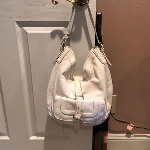 Ivory colored Michael Kors hobo purse